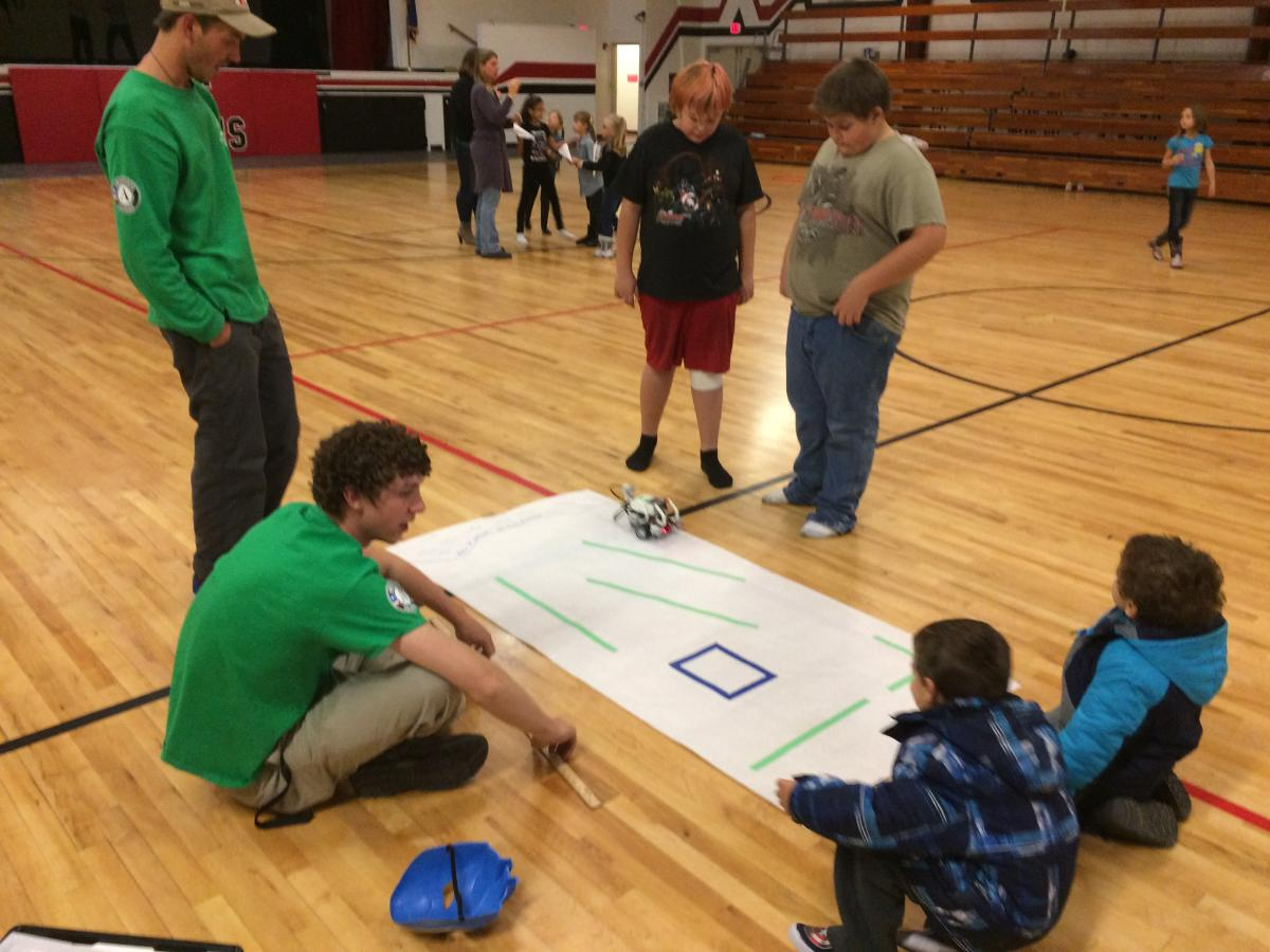 Robotics with Middle School Students
